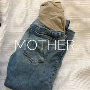 Mother maternity jeans from Pea in a Pod